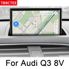 For Audi Q3 8V 2011~2018 MMI IPS Android 2 DIN Car DVD GPS Navigation multimedia player Stereo Auto radio WiFi system Map цены онлайн