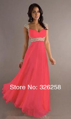 Watermelon Color Bridesmaid Dresses