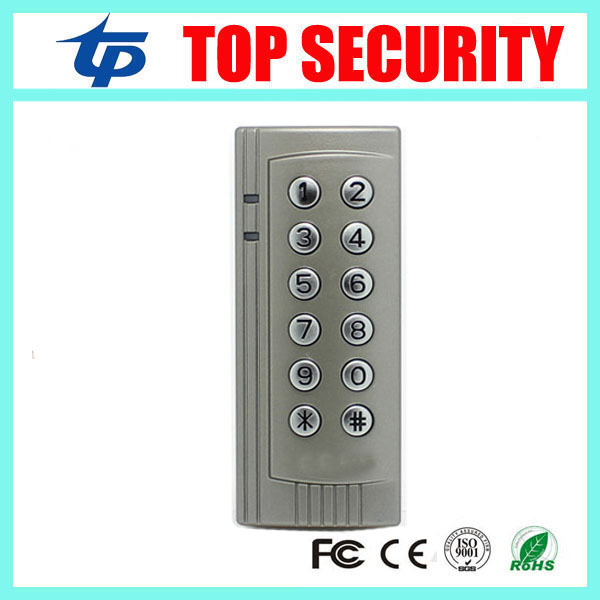 Good quality door security smart card access control system 125KHZ RFID card reader weigand in and out door access controller smart card reader door access control system 125khz smart rfid card proximity card door access control reader 10pcs rfid keys