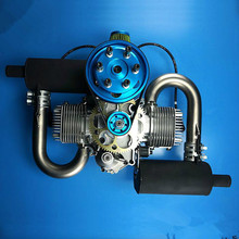 الأصلي DLE 200 200CC محرك الغاز الأصلي للحصول على نموذج طائرة رائجة البيع ، DLE 200