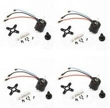 4pcs SUNNYSKY X2212 1250KV 230W Brushless Motor Quad-Hexa copter Free soldering