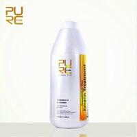 PURC Formaldehyde Free Keratin Hair Straightening Treatment Deep Repair Damaged Hair Make Hair More Shiny Hair Care Products