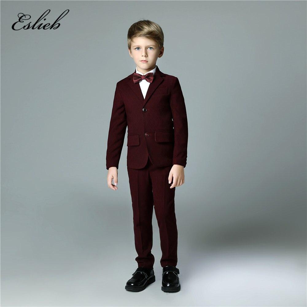 Custom made 4pcs Hot Sale boy\'s kids boy suit 2018 for weddings prom ...