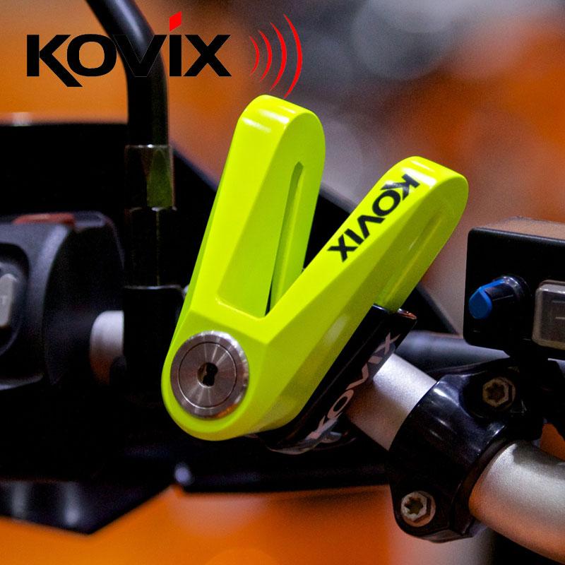 KOVIX New Safety Waterproof Motorcycle Brake Disc Lock