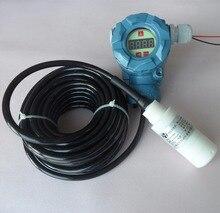 цена на PT3500 anticorrosion type input level transmitter putting-into-type liquid level meter PTFE anticorrosion