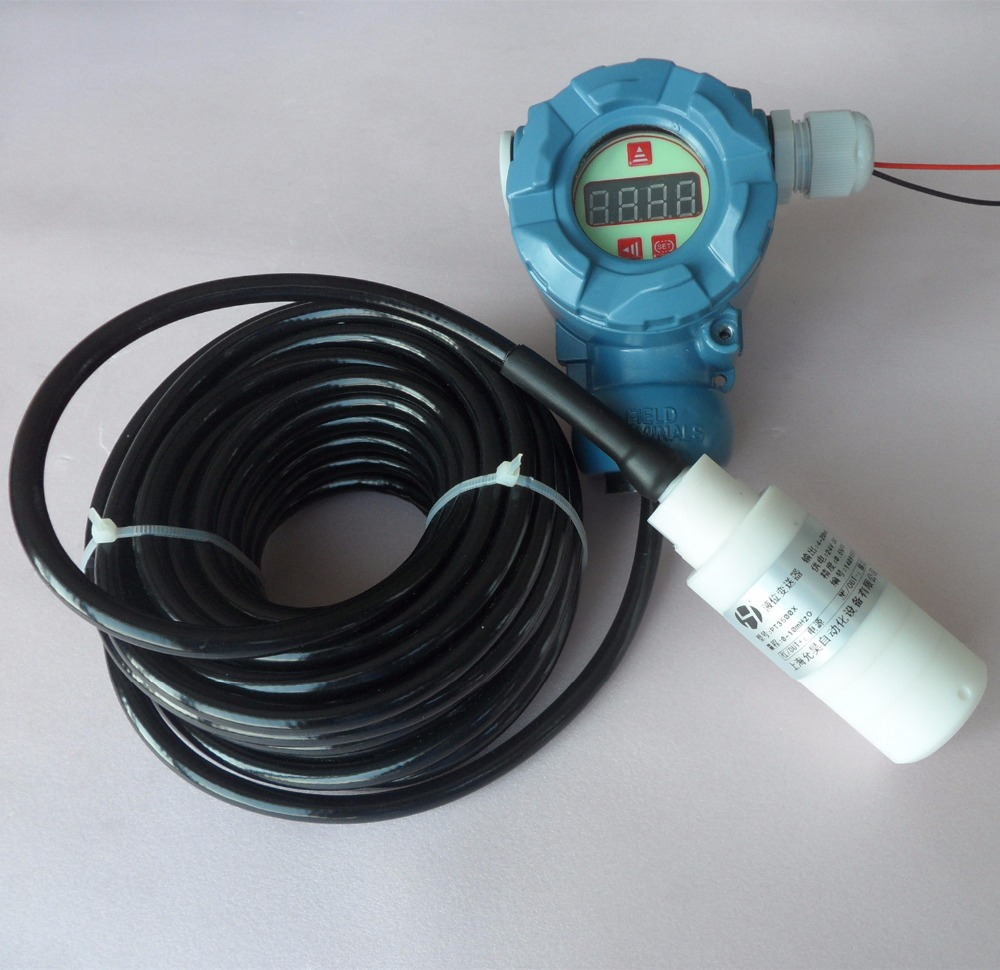 Transmetteur de niveau d'entrée de type anticorrosion PT3500 compteur de niveau de liquide de mise en place anticorrosion PTFE