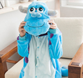 monster Sulley Sullivan adult onesie Pyjamas Cartoon animal costume Pajamas Unisex pijamas ,sleepwear ,party clothes