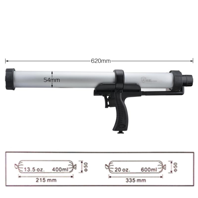 pneumatic air glass glue gun2