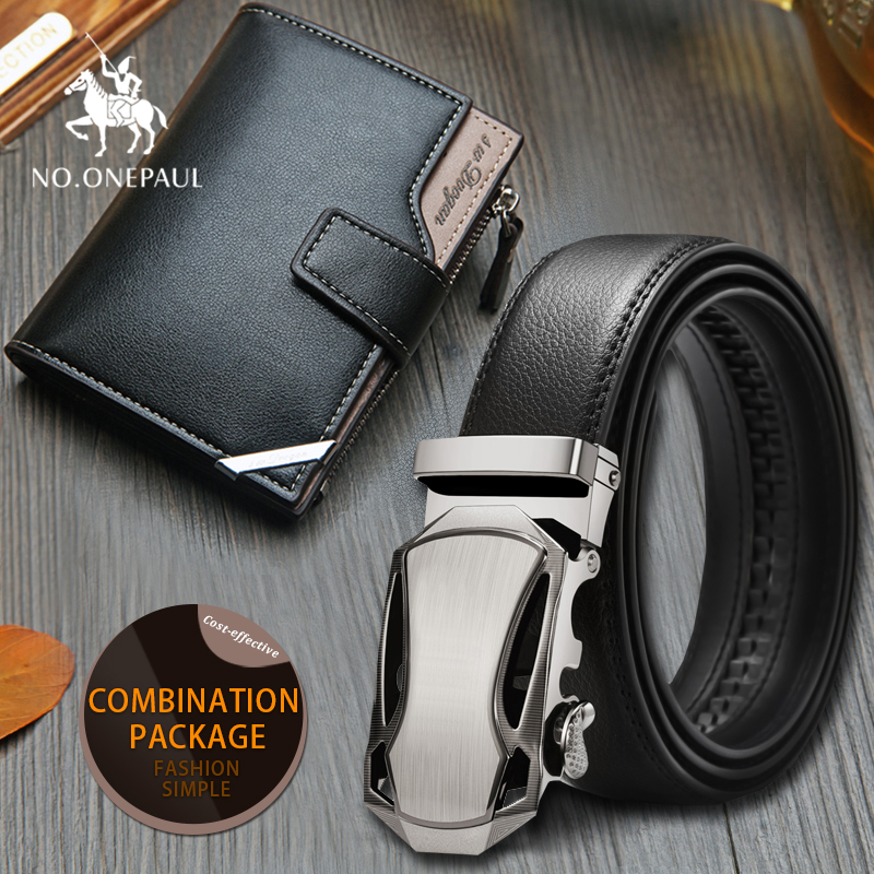 Set/sets Suit Designer Belts Men Best Quality Automatic Buckle Cowhide  Men Business Style  Fashion Brand Luxury Belts For Men