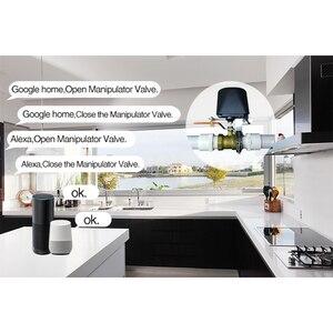 Image 2 - Spetu Wifi akıllı su vanası akıllı ev otomasyon sistemi vanası için gaz su kontrol Alexa ile çalışmak google ev asistanı IFTTT
