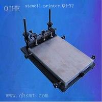 Qihe SMT Руководство PCB Трафаретный принтер/Руководство PCB шелкография печатная машина, SMT паяльная паста принтера