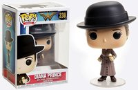 Exclusive FUNKO POP Official DC Heroes: Wonder Woman Diana Prince with Ice Cream Vinyl Action Figure Collectible Model Toy