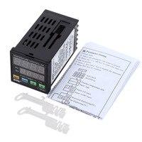 Hot MYPIN TA4 SNR Temperature Controller Dual Digital F/C PID Thermostat SSR Control Output Alarm