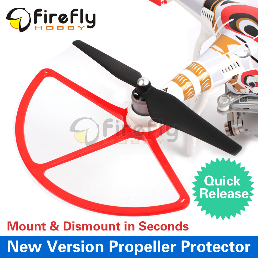 DJI Phantom 1/2/3 Quick Release Protector Propeller Guard/ Protector/ Bumper/ Shielding Ring Phantom 3 Accessories