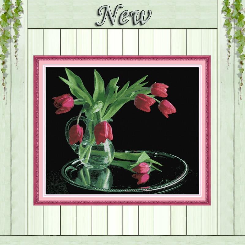 Cinta de raso rojo oscuro Rosas Craft Scrapbooking Shabby Chic 25mm Flor Craft