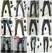 Shop genuine 2016 new uglyBROS Slim camouflage Riding jeans / motorcycle jeans / multifunction denim shorts / pants unisex