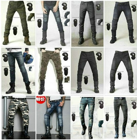 Shop genuine 2016 new uglyBROS Slim camouflage Riding jeans / motorcycle jeans / multifunction denim shorts / pants unisex men s cowboy jeans fashion blue jeans pant men plus sizes regular slim fit denim jean pants male high quality brand jeans