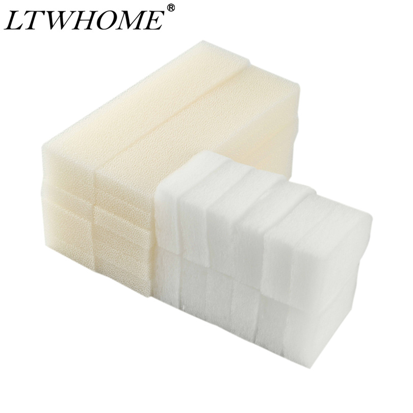 LTWHOME Value Pack of Foam Filters and Polishing Pads Set