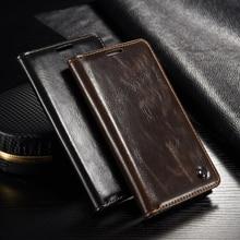 Роскошная натуральная кожа Магнитная флип чехол для Samsung Galaxy S4 Mini i9190 оригинальная крышка мобильного телефона случаях аксессуары