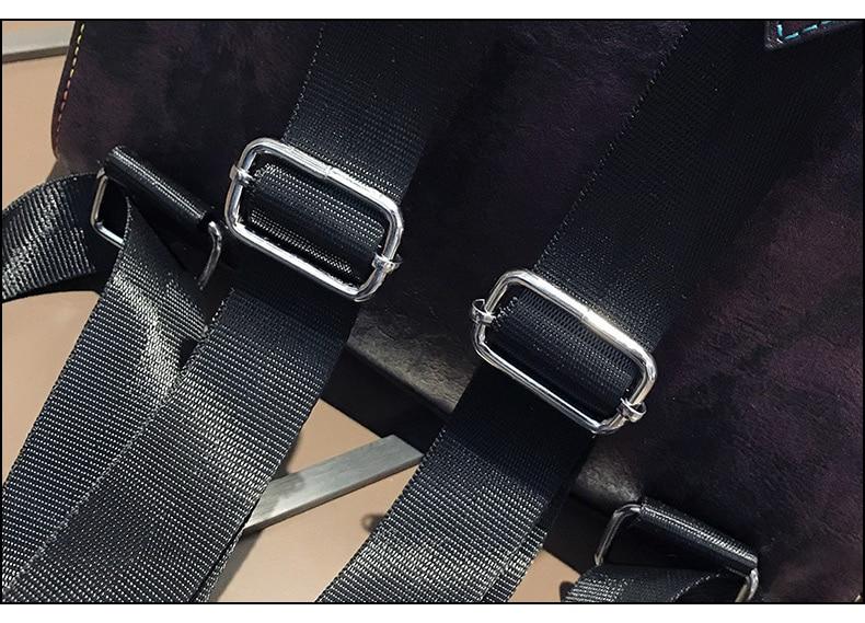 HTB10TCFao rK1Rjy0Fcq6zEvVXaY Retro Leather Women Backpack Zipper School Backpacks For Teenage Girls Bag Large Capacity Multifunction Mochila Feminina XA227H