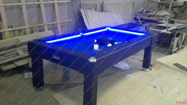 LED Pool Tablein Snooker Billiard Tables From Sports - Composite pool table