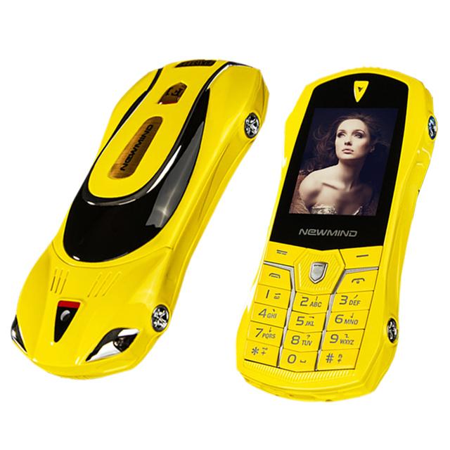 Newmind c1 bar pequeño tamaño surf el internet la marcación por voz MP3 cámara de choque llave del coche modelo de mini teléfono móvil de CDMA P125