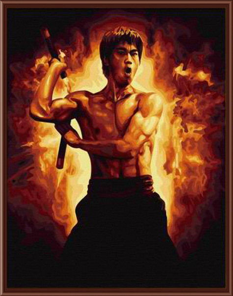 Online buy wholesale bruce lee paintings from china bruce for Lee s painting