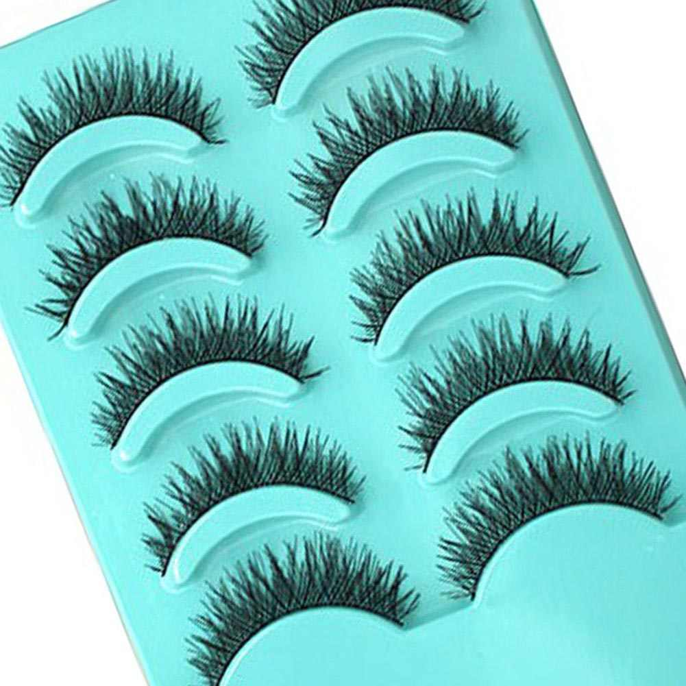 Accessory Tool Design Item Vintage Pretend Eyelashes 5 pairs/set Pretty  Latest