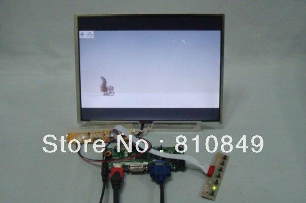 HDMI+DVI+VGA Control board+12.1inch 1024*768 N121X5 LTN121XT HT121X01 Lcd Panel 100% original laptop screen 12 1 n121x5 l01 1024 768 fully test