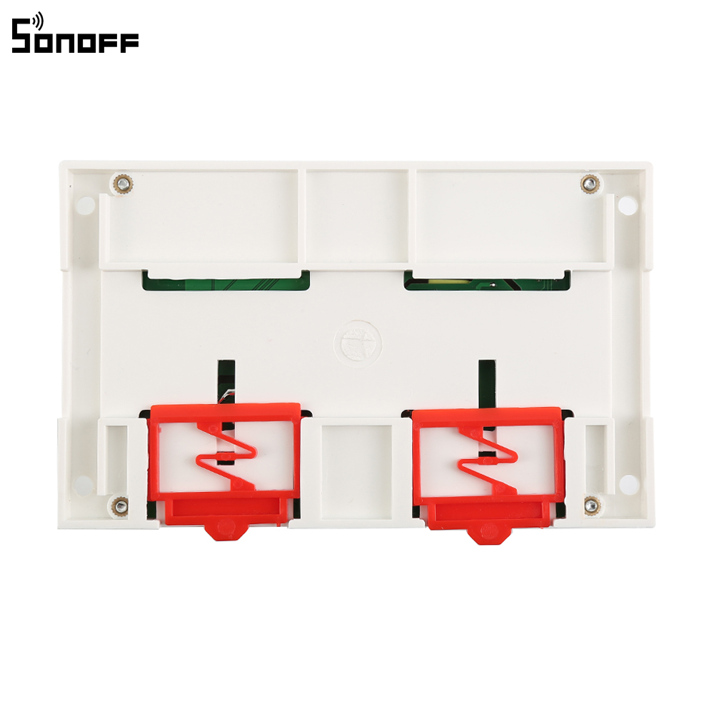 Sonoff 4CH 10A/Gang Wifi Smart Switch 4 Gang Four Channel Remote Wifi Light Switch Control 4 Devices Work with Alexa Google Home