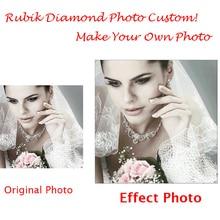 CNA DIY Foto Benutzerdefinierte 5D Diamant Malerei Persönliche Volle Runde Strass 3D Kreuzstich Mosaik Stickerei Perlensets