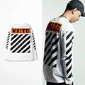 2016 Off White Virgil Abloh Pyrex Vision GD Sweatshirt kanye hoodie pullover clothing hip hop brand men women sweatshirt