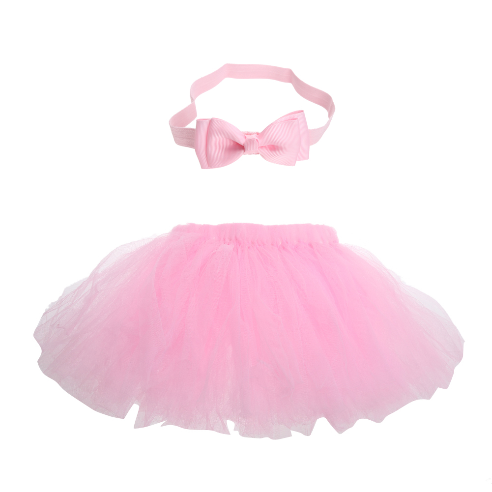 Newborn-Infant-Baby-Girls-Clothes-Photo-Props-Girls-Princess-Bubble-Tutu-Skirt-with-Bowknot-Headband-Outfit-Kids-Clothing-Set-2