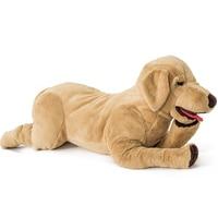 kawaii 80CM Labrador golden dog Plush soft Stuffed Toy Doll animals plush toys for children sleep pillow girls birthday gifts
