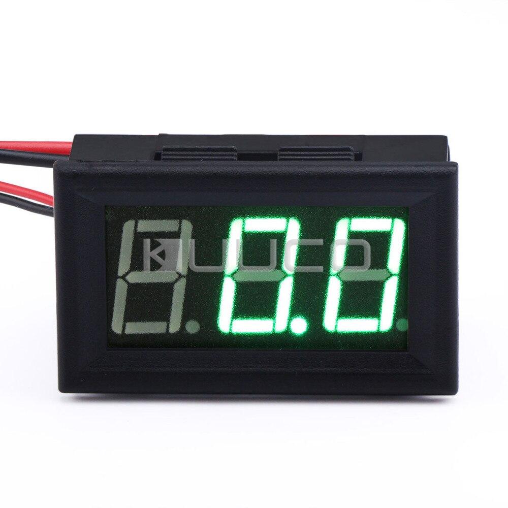 5 Pcs Lot 0 56 Green Led Ampere Meter Dc 0 100a Digital Ammeter
