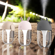 лучшая цена Mini Usb Humidifier Air Lamp Humidifier Mushroom Low Voice Home Office Purifying air mist maker Household Machine