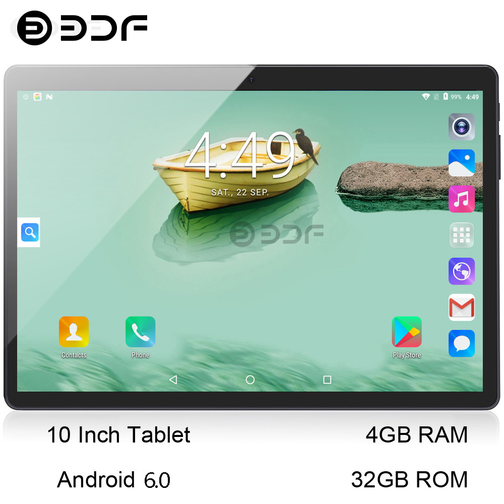 2018 Best-Selling 10 inch 3G Phone Call Tablets Quad Core Tablet pc Android Tablet 4G+32G WiFi GPS Dual SIM pc tablet 7 8 9 tab(China)