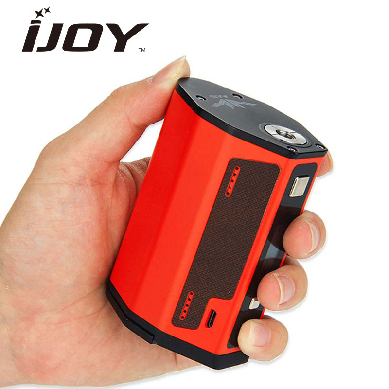 Original 315W IJOY MAXO QUAD 18650 TC BOX MOD 315W E-cig Vape Mod match ijoy rdta 5 Tank/Limitless rdta Tank 510 Thread Box Mod orginal ijoy maxo zenith box mod 300w no 18650 battery for ijoy rdta 5 tank atomizer electronic cigarette mod 510