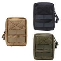 600D militaire tactique sac de vie multifonctionnel outil poche EDC ressorts charnière chasse Durable ceinture poches Packs extérieur nouveau