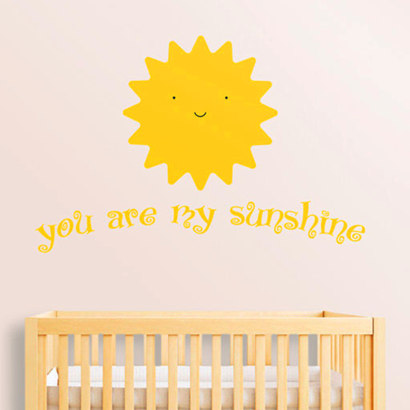 Popular Sunshine QuotesBuy Cheap Sunshine Quotes Lots From China - Wall decals you are my sunshine