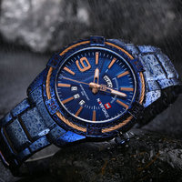 NAVIFORCE Mens Watches Top Brand Luxury Watches Waterproof Quartz Watch Men Reloj Military Gold Sport Watch