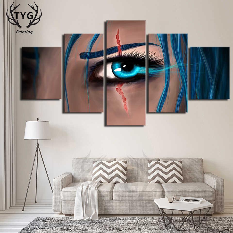 Глаз постер картина
