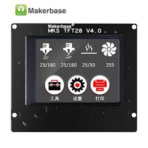 Image 4 - 3d מדפסת מגע מסך תצוגת MKS TFT28 תצוגת צבע RepRap בקר פנל תמיכה/WIFI/אפליקציה/הפסקת חיסכון מקומי שפה