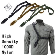 1000D Single Point 1-Point One Point Heavy Duty Mount Bungee Military Rifle Sling Adjustable Tactical Green Black Tan Gun Sling