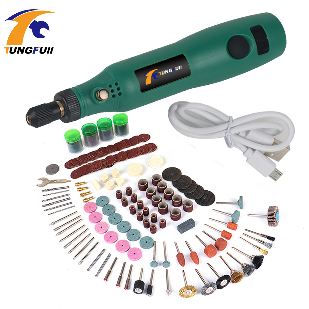 Tungfull Mini Variable Speed Wireless Power Tools Mini Electric Drill Rotary Power Tools Electric Hand Drill Cordless Drill