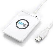 Jakcom ACR122U Управление доступом USB NFC RFID Бесконтактных Смарт-чтения карт ic 13.56 мГц USB NFC читателя писатель