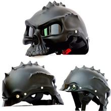 Nouveau 2016 Tactique cool crâne casque Paintball Airsoft CS tatico Moto casque demi casque équipement De Protection livraison gratuite