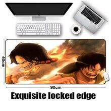 Large Portgas D Ace Mousepad