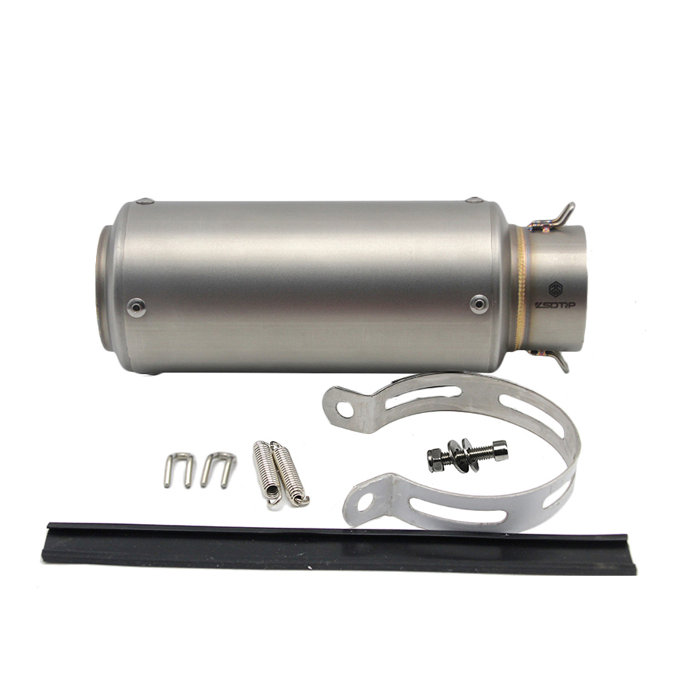 ZSDTRP universel 60mm modifié 51mm SC tuyau d'échappement de moto silencieux en Fiber de carbone tuyau d'échappement pour S1000RR R6 ER6N R1 CBR 300 - 5