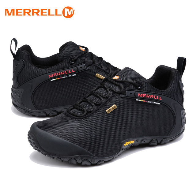 214f0e0bb4 Original Merrell Men Breathable Camping Outdoor Sport Mesh Hiking Shoes For  Male Waterproof Mountaineer Climbing Sneakers 39-44